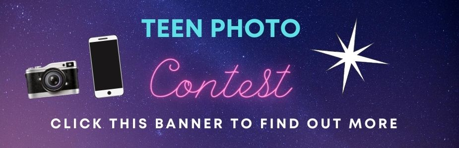 Teen Photography Contest now open.  Call 937-845-3601 for more information.